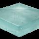 Art Glass Sample - Arctic Mist