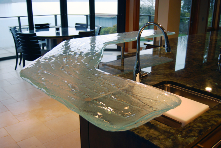 4-Layer Aisu Glass Counter Top - CT-008