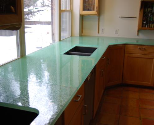Caribbean Dense Glass Counter Tops - CT-023
