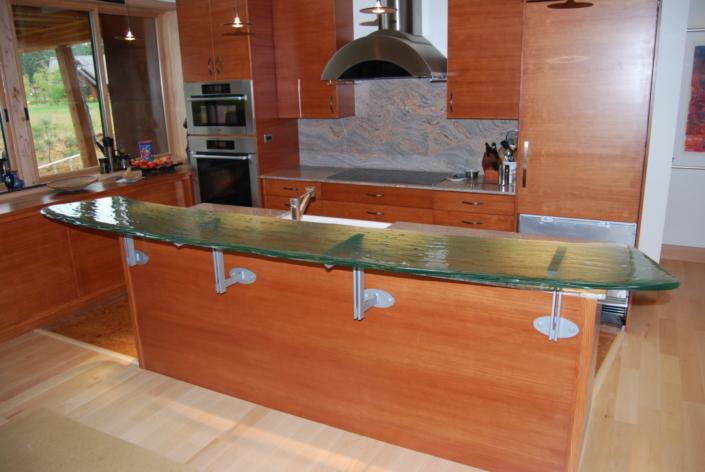 4-Layer Midori Glass Counter Top - CT-039