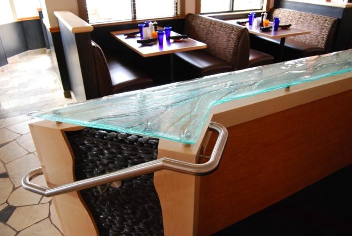 3-Layer Aisu Glass Counter - CT-044