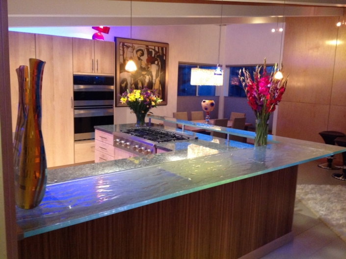 Legacy Crystal Glass Kitchen Counter - CT-057