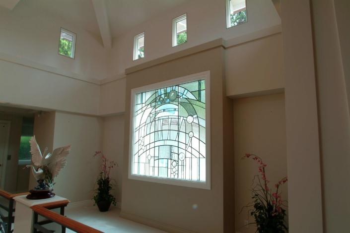 Stained Glass Window - DW-017