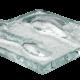 Art Glass Sample - Optic Flow
