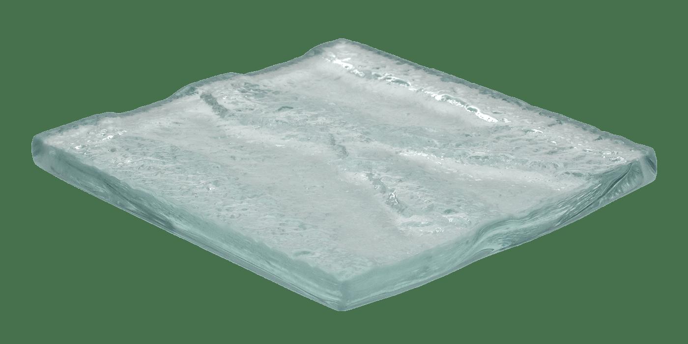 Art Glass Sample - Water Texture