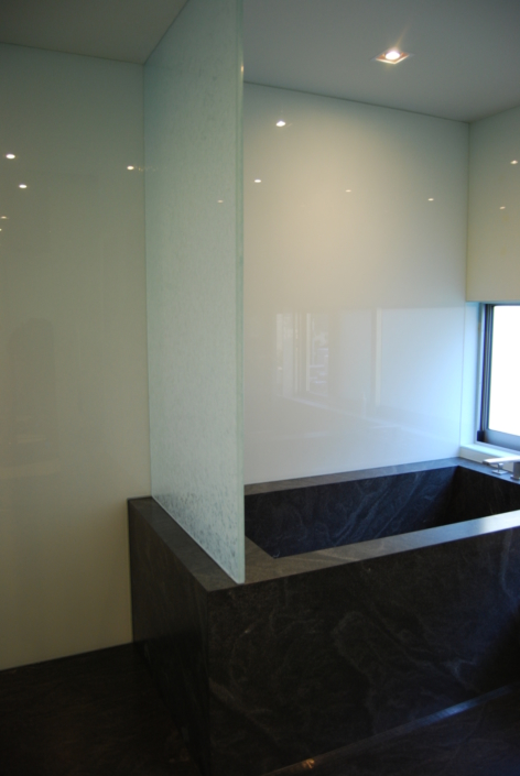 Arctic Wisp Safety Glass Privacy Partition - WP-012
