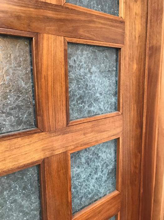 Arctic Wisp Glass Door Inserts - DW-023