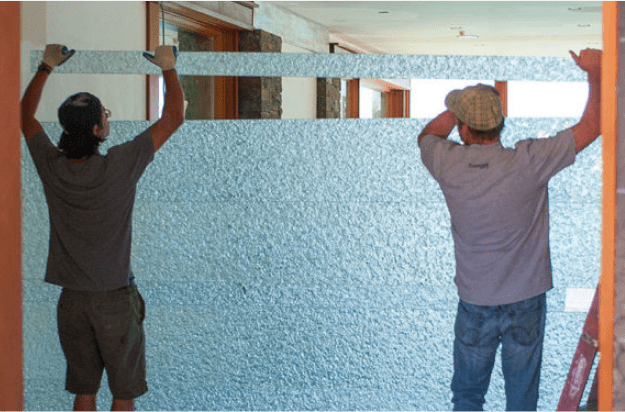 Escala wall installation